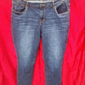 Womens Old Navy Curvy Blue Jeans